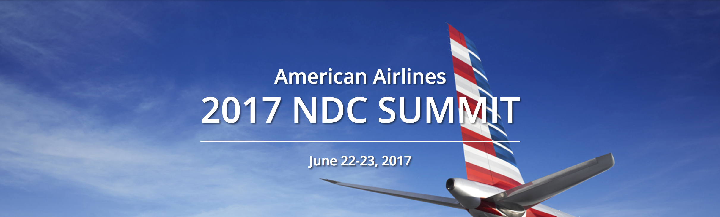 Presenting at the 2017 American Airlines NDC Summit