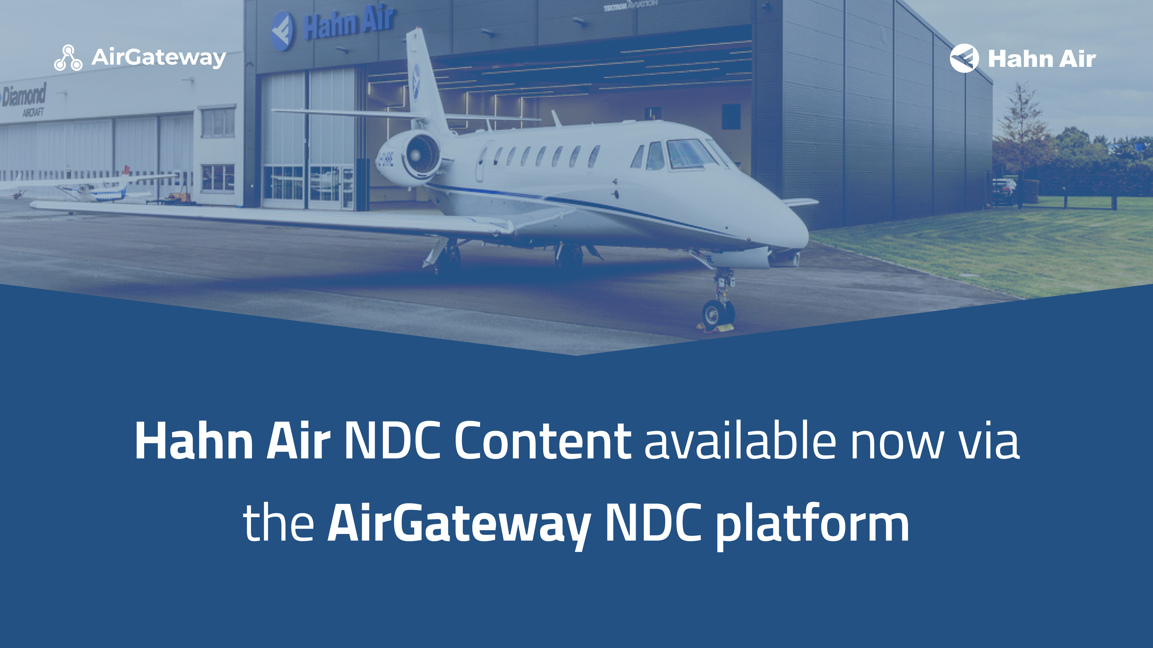 Hahn air NDC Content now available through NDC platform